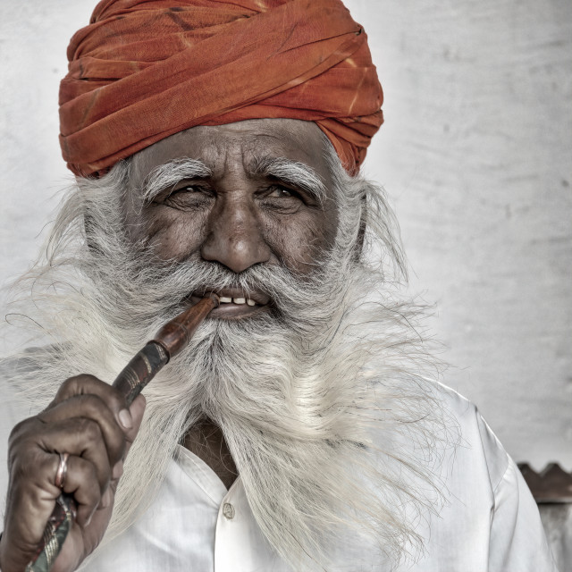"""The Guru"" stock image"