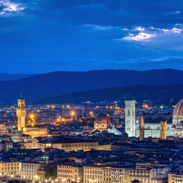 """""""Duomo Santa Maria Del Fiore."""" stock image"""