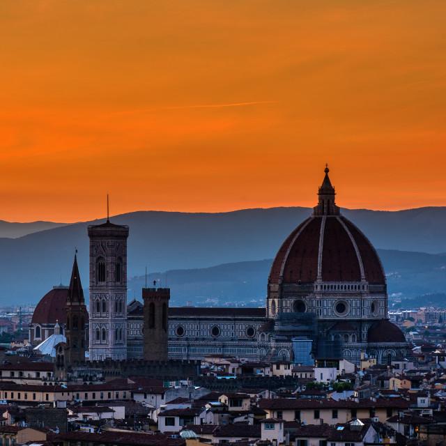 """Duomo Santa Maria Fiore."" stock image"