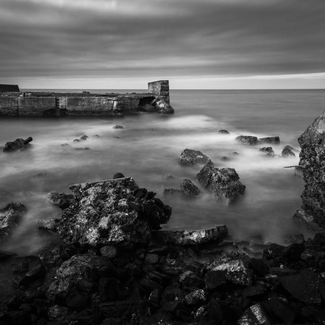 """Sandhaven Harbour"" stock image"