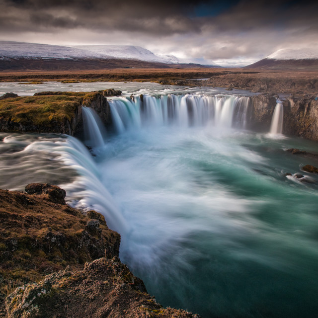 """""""Godafoss Iceland"""" stock image"""