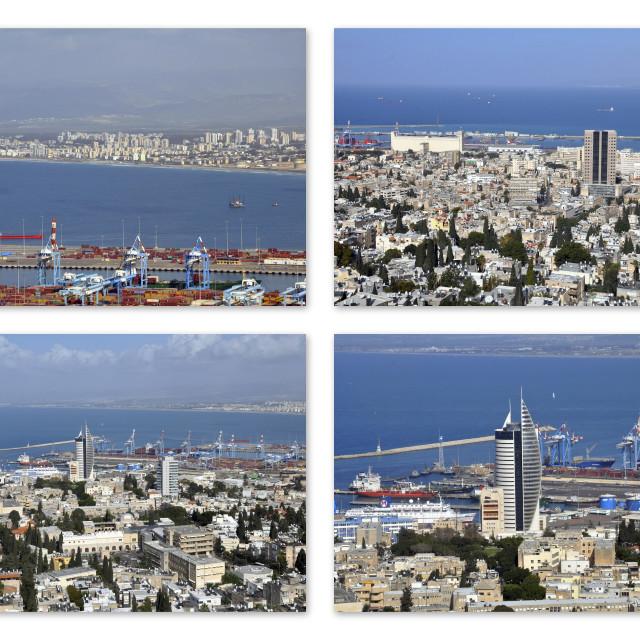 """Haifa Collage"" stock image"