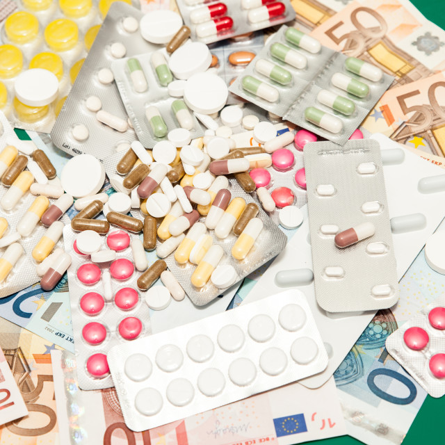 """health medications money"" stock image"