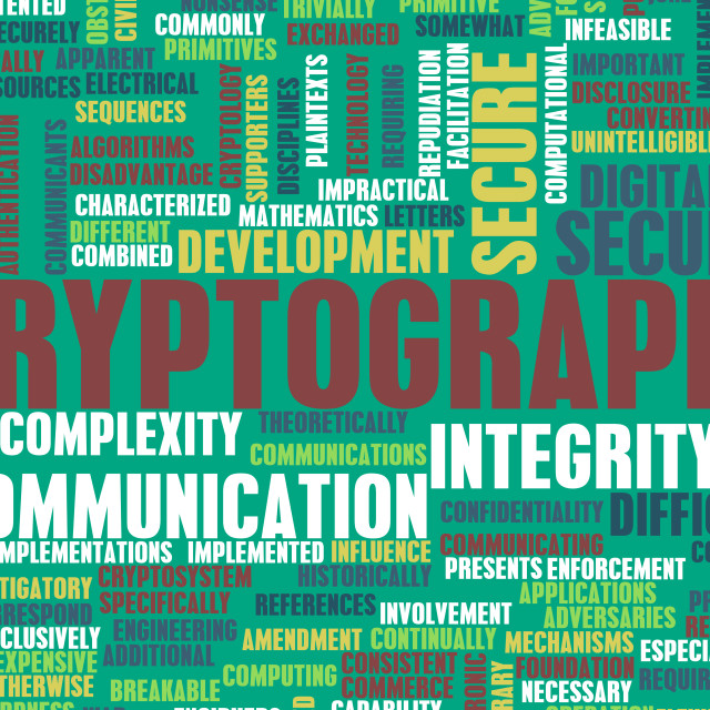 """""""Cryptography"""" stock image"""