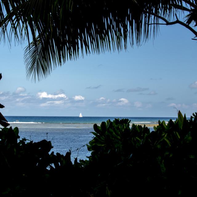"""Sea View"" stock image"
