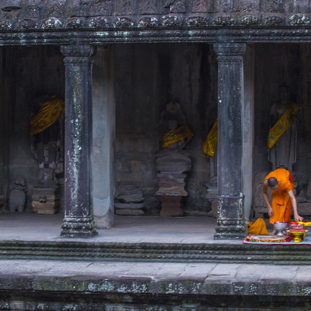"""Angkor Wat Temple in Cambodia"" stock image"