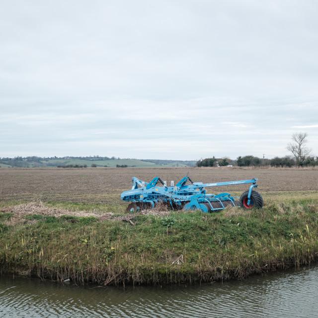 """Winchelsea Farmland"" stock image"