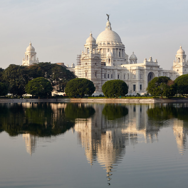 """Victoria Memorial, Kolkata, India."" stock image"