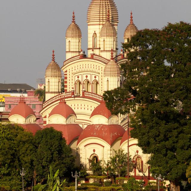 """Dakshineswar Kali Temple, Kolkata, India"" stock image"