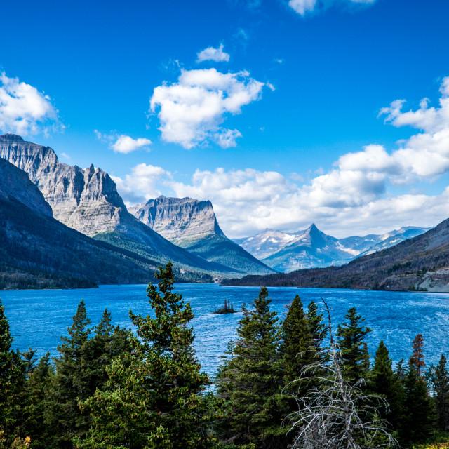 """Glacier National Park"" stock image"