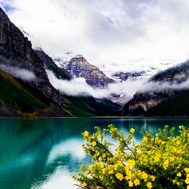"""Banff National Park"" stock image"