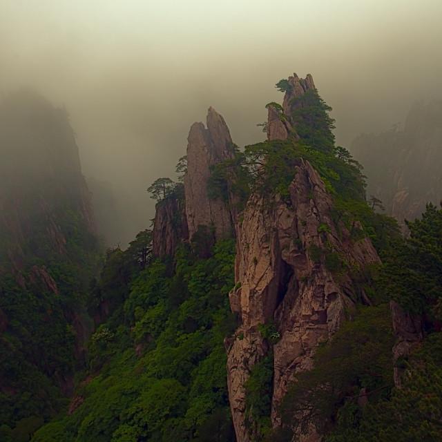 """""""Yellow Mountains"""" stock image"""