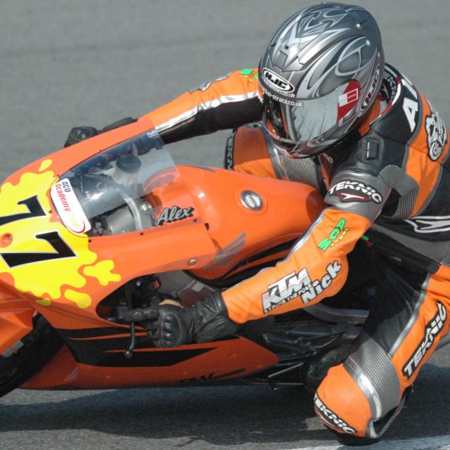 """""""Motor Bike Racing - Brands Hatch"""" stock image"""