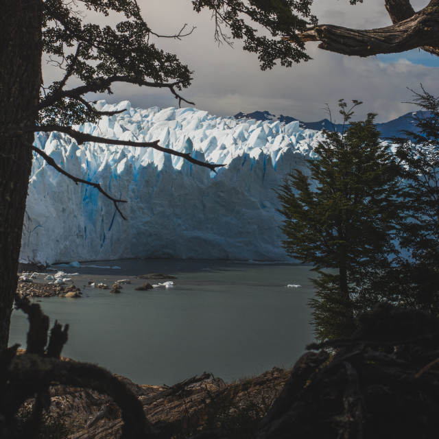 """Perito Moreno Patagonia"" stock image"