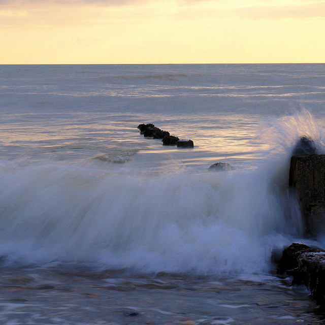 """""""Incoming Tide 2"""" stock image"""