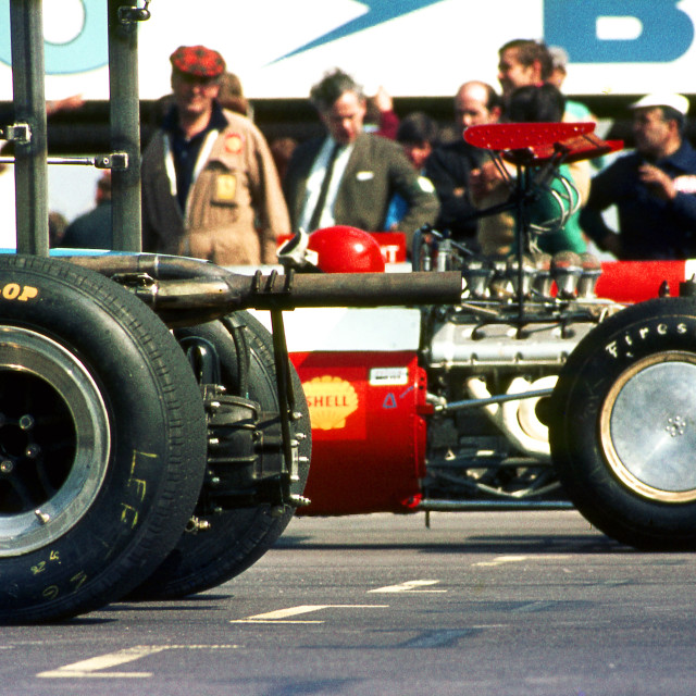 """""""Power and Wings on the Grid F2 Thruxton"""" stock image"""