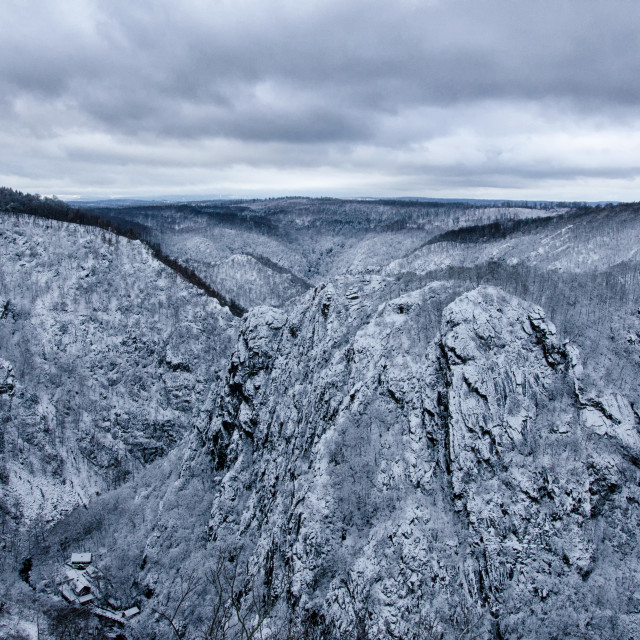"""Winter Vista In Harz"" stock image"