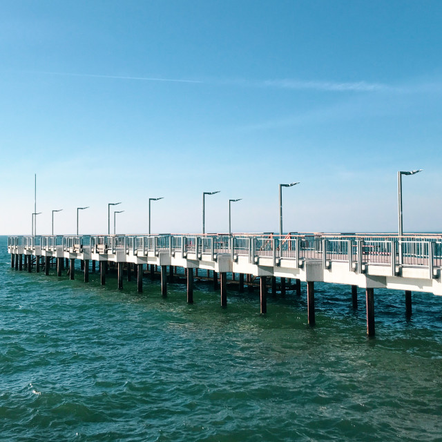 """""""Beautiful Sea View From Pomorie, Bulgaria"""" stock image"""