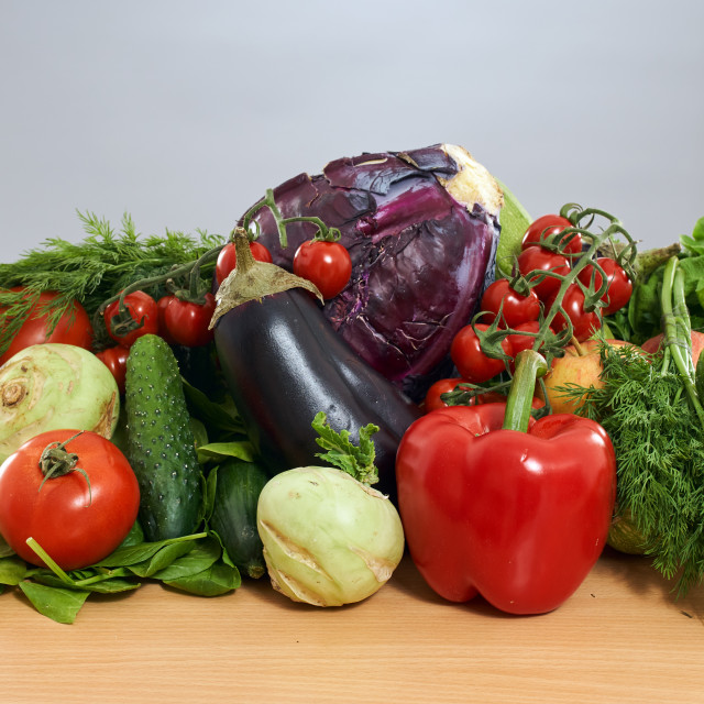 """""""Group of vegetables"""" stock image"""
