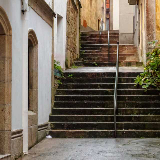 """""""Steps and handrails - Cee"""" stock image"""