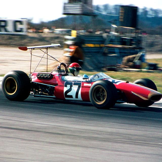 """Enzo Corti Brabham BT23"" stock image"