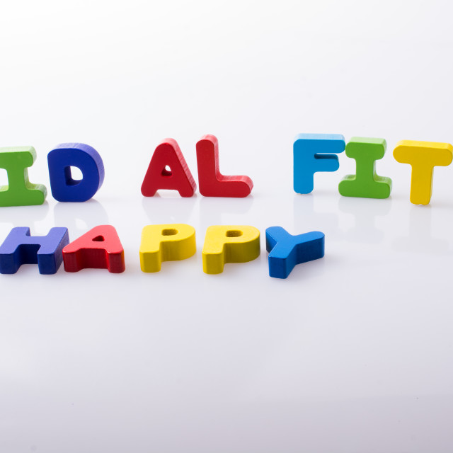 """""""the word EID EL FITR written with colorful letters"""" stock image"""