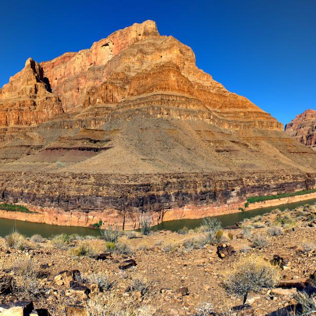 """Grand Canyon- Lake Mead Entrance"" stock image"