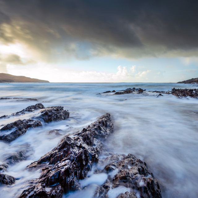 """St Finians Bay"" stock image"