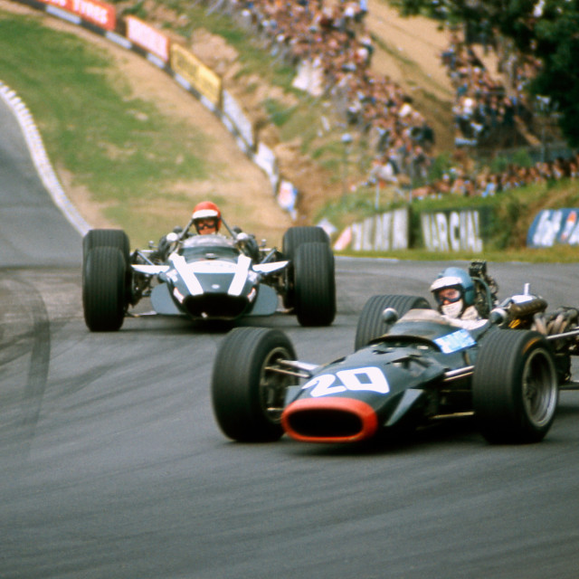 """""""Piers Courage Brands Hatch"""" stock image"""