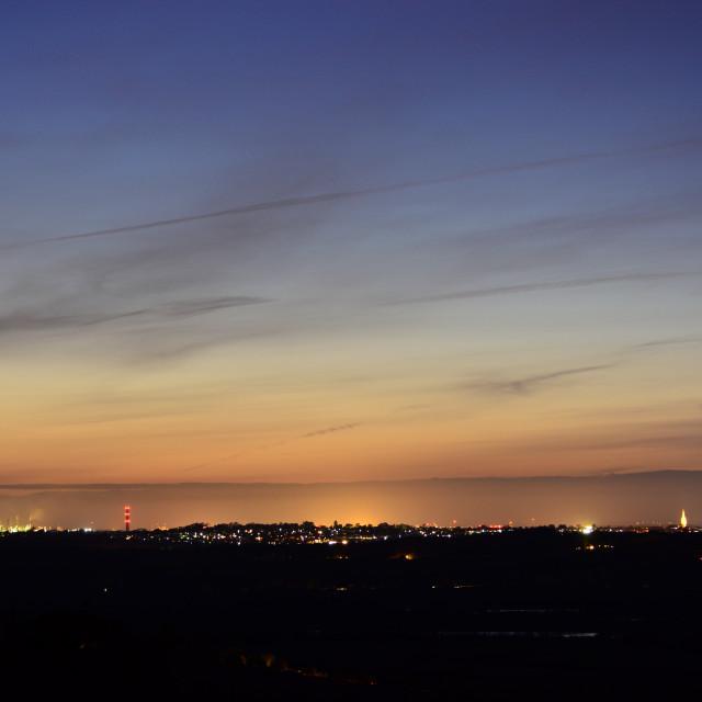 """""""Southampton Skyline"""" stock image"""