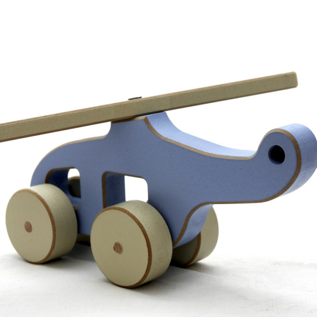 """""""wooden toy helicopter"""" stock image"""