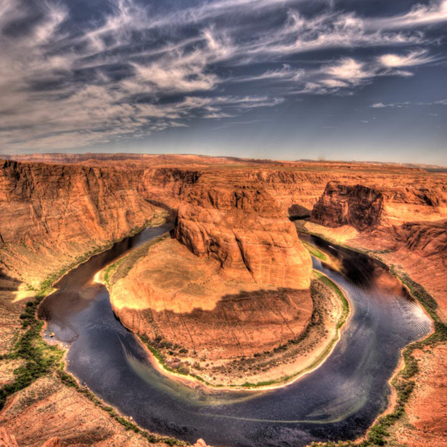 """""""Horseshoe Bend - Page Arizona"""" stock image"""