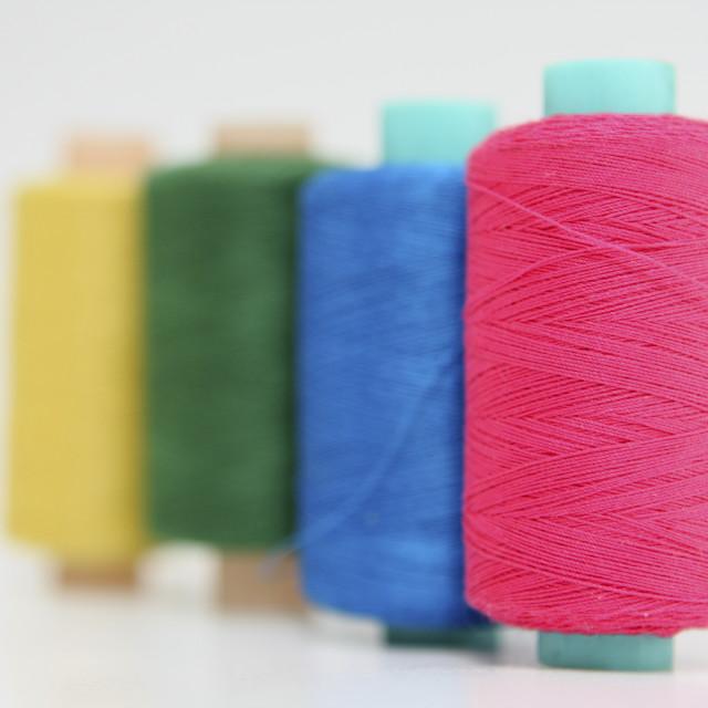 """""""Sewing kit"""" stock image"""