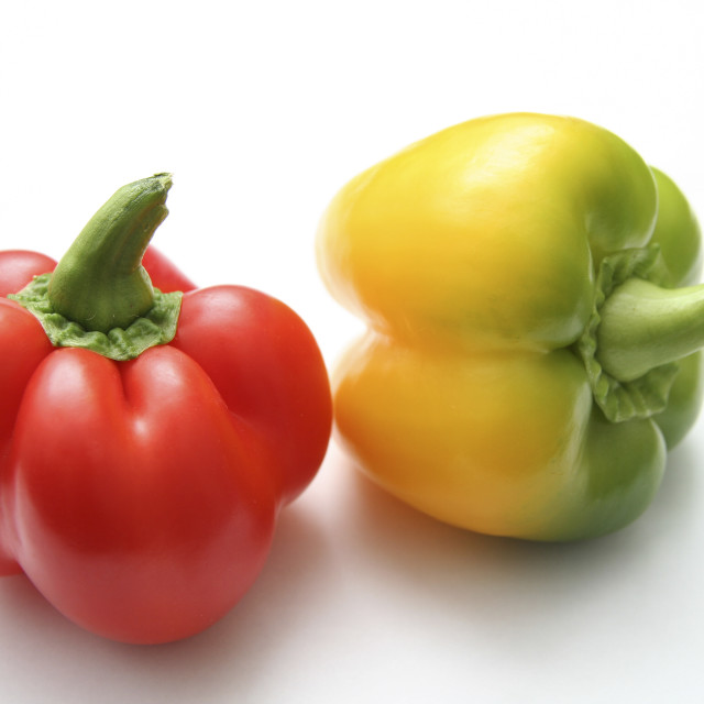 """""""Red Bell Pepper"""" stock image"""