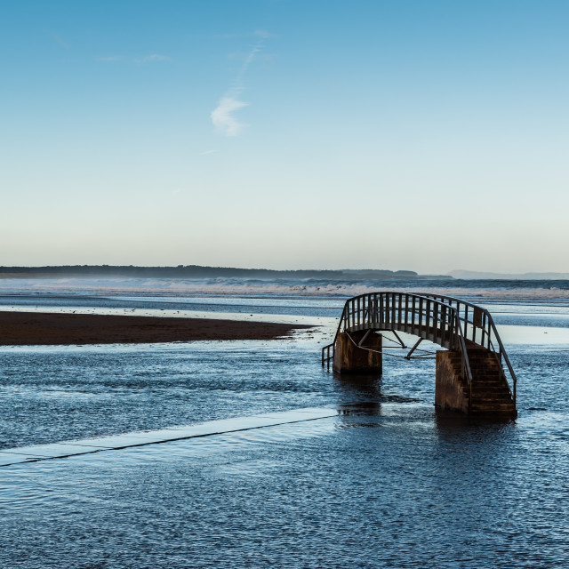 """Firth of Forth and Belhaven Bay"" stock image"