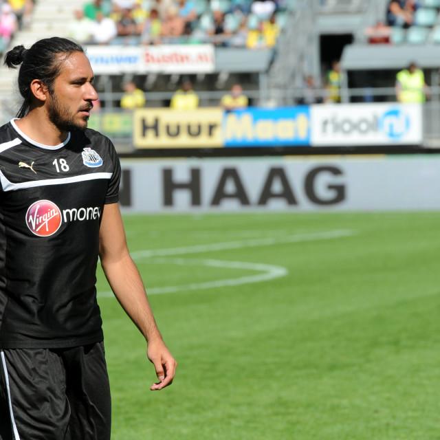 """Pre-season friendly ADO Den Haag vs Newcastle Utd 4th August 201"" stock image"