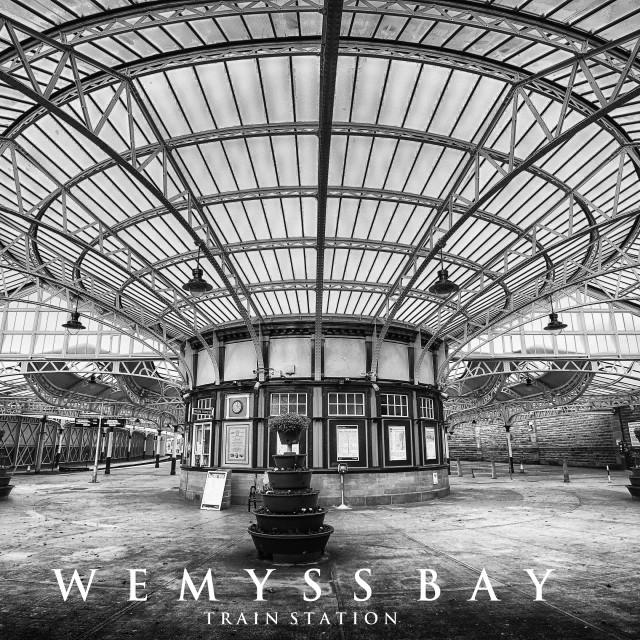 """Wemyss Bay Train Station"" stock image"