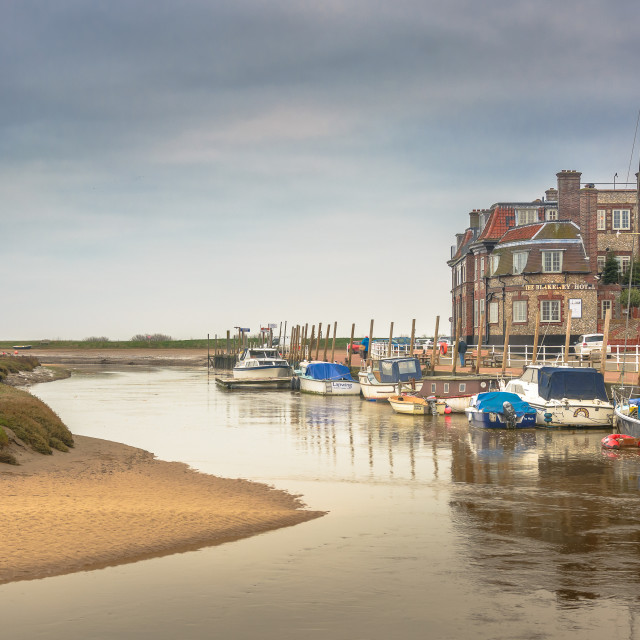 """Blakeney"" stock image"