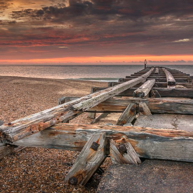 """Landguard Point"" stock image"