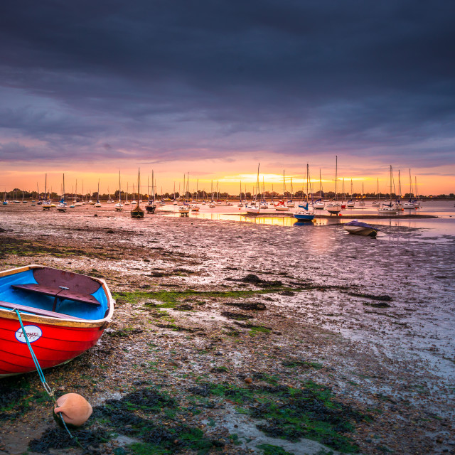 """Heybridge Basin"" stock image"