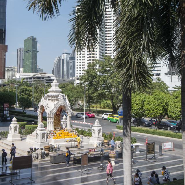 """THAILAND BANGKOK CITY PRATUNAM TRAFIC"" stock image"