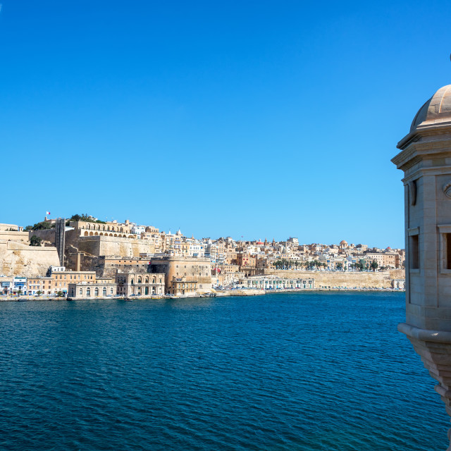 """Grand Harbor in Malta"" stock image"