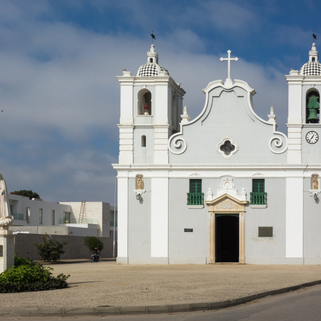 """""""Igreja da nossa Senhora do populo, Benguela Province, Benguela, Angola"""" stock image"""