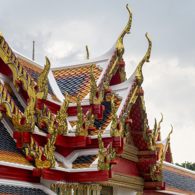 """Grand Palace, Bangkok"" stock image"
