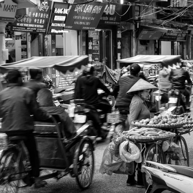 """Vietnam Street"" stock image"