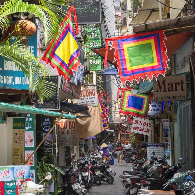 """""""Vietnam Alleyway"""" stock image"""