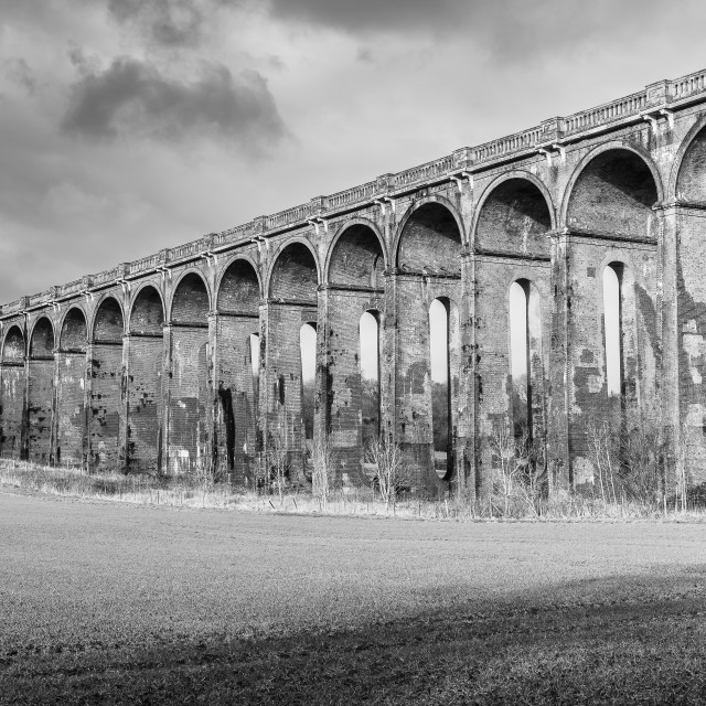 """""""Ouse Valley Viaduct"""" stock image"""