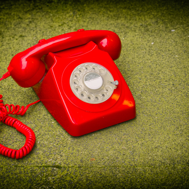 """""""Rotary Dial Telephone"""" stock image"""