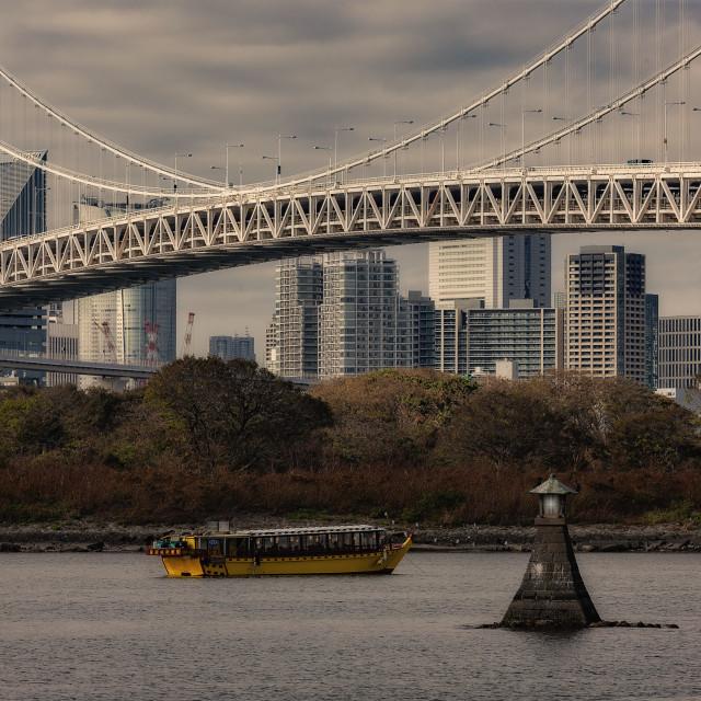 """""""Rainbow Bridge, Tokyo"""" stock image"""
