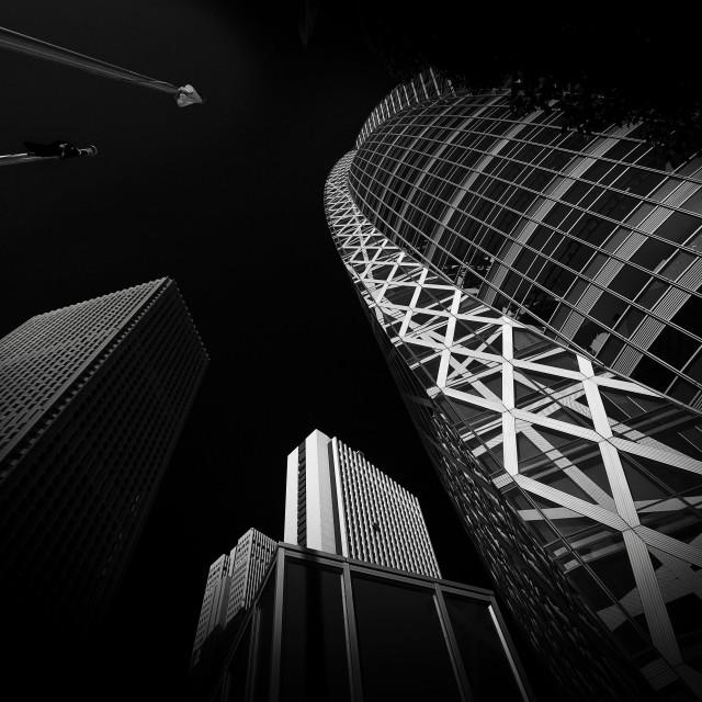 """High Rises, Tokyo"" stock image"
